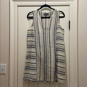 Michael Stars linen stripe dress